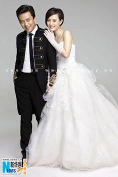 Toàn cảnh đám cưới lung linh của cặp đôi Tôn Lệ - Đặng Siêu