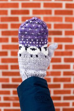 Baa-ble Mittens and Earl Grey Hat