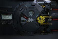 Sci-fi door / airlock