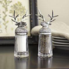 Birch Lane Reindeer Salt & Pepper Shakers
