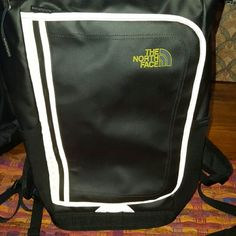 Brand new Northface book bag with charging port Kaban Northface book bag with a Joey charging port ! Brand new ! Reflective ribbing ! Fantastic support for laptop or tablets too! North Face Bags Backpacks