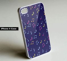 Music Notes #2 - iPhone 4 Case, iPhone
