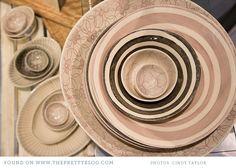 Poetry {Shop Tour}- beautiful ceramics   Photography: Cindy Taylor, Ceramics: Wonki Ware