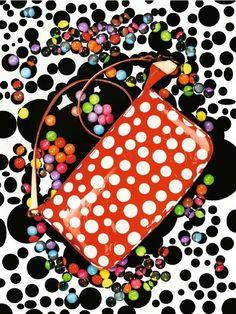 Handtasche aus der Yayoi-Kusama-Kollektion von Louis Vuitton, 860 Euro