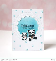 mama elephant | design blog: INTRODUCING: Incoming Mail | sending smiles by Kryssi