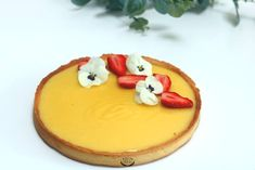 Lemon tart – Recipe for CAP Pâtissier technical sheets – Pastry World Coconut Recipes, Tart Recipes, Cupcake Recipes, Snack Recipes, Easy Smoothie Recipes, Easy Smoothies, Coconut Milk Smoothie, Homemade Frappuccino, Rainbow Food