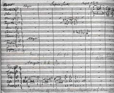 Symphony Score Manuscript The viola is the best instrument!