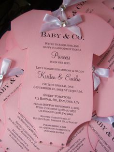 Baby Shower Tiffany and Co. Onesie Invitation Boy or Girl Announcment by InvitationsbyArisbet on Etsy