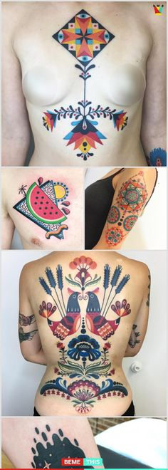 This Brilliant Tattooist Unveil the Most Colourful and Vintage Tattoos #tattoos #art #tattooist #art #artwork #colourfultattoos #artistofinstagram #artist #winstonthewhale #latesttrends