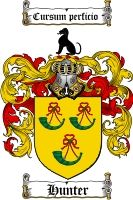 $8.99 Hunter Family Crest / Hunter Coat of Arms - Download Family Crests