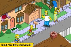 Download free direct The Simpsons Tapped Out  is a Casual game for android  Download latest version of The Simpsons Tapped Out Mod A...