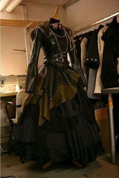 Steampunk Starshooter dress -