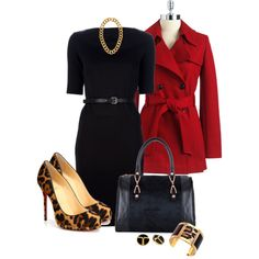 Leopard Shoes, created by averbeek on Polyvore