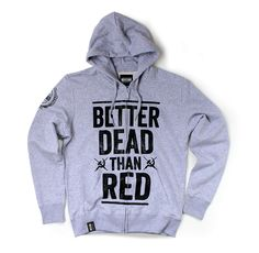 Bluza Better Dead Than Red