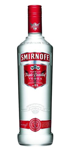 Smirnoff vodka... sounds like freshman year of college to me