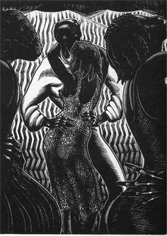 """Alec Waugh's """"Hot Countries"""" Artist: Lynd Ward Completion Date: 1930 Place of Creation: United States Style: Expressionism Genre: illustrati..."""