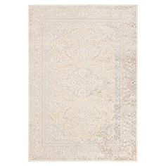 Classic Persian-style rug in camel, parchment, and light gray. Made in Turkey.   Product: RugConstruction Material: ...