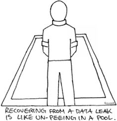 Recovering from a data leak is like un-peeing in a pool so prevention is the the only real 'solution': (1)store your data on servers and (2)if you really need data on mobile devices (laptops, tablets, smart phones, flash drives, etc.) then encrypt them