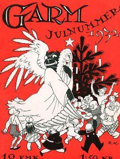 Rudolf Koivu: Garm-lehden kansi, 1932 Cover Art, Cool Designs, Comic Books, Comics, Magazine Covers, Europe, Vintage, Nice, Comic Strips