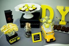 School Bus Birthday Party Ideas | Photo 1 of 15 | Catch My Party