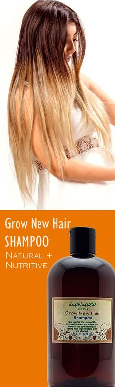 This GNew Hair Shampoo is your first step in the battle to restore beautiful full hair.