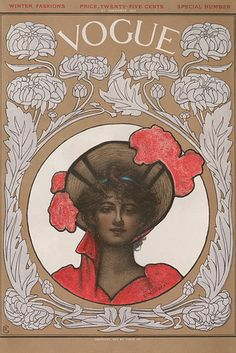 "Ethel Wright, Nov. 1902 | 11 Famous Artists Who Created Gorgeous ""Vogue"" Covers"