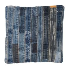 Pillow jeans - made from recycled denim jeans - 40x40 cm