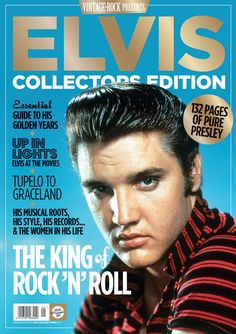 "October 1st, 2015 - The Vintage Rock Collectors Edition Elvis Special is an exploration of the life of the most famous man ever to have walked the earth.  The cover photo by Frank Powolny is from the photo shoot for ""Love Me Tender"" (20th Century Fox) and other publicity purposes that took place between September 4 and 6, 1956."