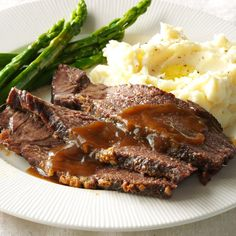 Java Roast Beef Recipe -Coffee adds richness to the gravy, which is perfect for sopping up with crusty bread or draping over mashed potatoes. —Charla Sackmann, Orange City, Iowa