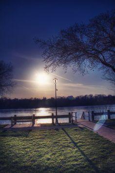 sunset at riverside, Lewiston NY