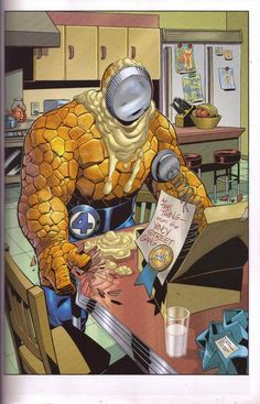 Ben Grimm - The Thing by Mike Wieringo *
