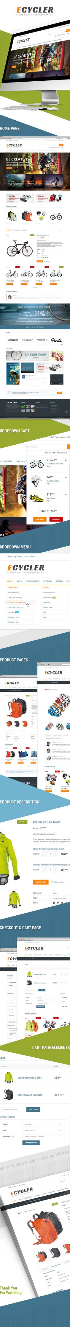 ECycler - usable & clean e-commerce theme