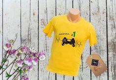 Tricou personalizat – JUCĂTORUL #1 Onesies, Kids, T Shirt, Clothes, Women, Art, Fashion, Young Children, Supreme T Shirt