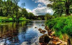 Resultado de imagen de beautiful river 4k