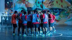 "Adidas Tango League Takes On Los Angeles for Release of ""Ocean Storm"" Pack Street Football, Ocean Storm, Tango, Adidas, Urban, Sports, La Galaxy, Hs Sports, Sport"