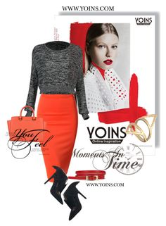 Feel like a Yoins Lady by inna-5 on Polyvore featuring polyvore fashion style Doublju Jeffrey Campbell MICHAEL Michael Kors clothing yoins