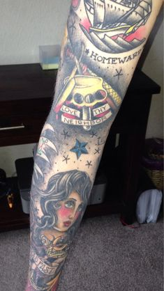 Pin Sailor Jerry Sleeve on Pinterest