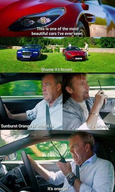 Top Gear Funny, The Funny, Seinfeld, Clarkson Hammond May, South Park, Funny Jokes, Hilarious, Laugh Track, Jeremy Clarkson