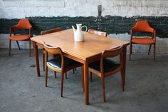 Graceful Danish Mid Century Modern Teak Dining Chairs (1960's) | Flickr - Photo Sharing!