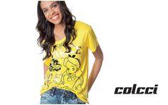 8a2acf780 Blusa com estampa Alice no país das maravilhas - Colcci
