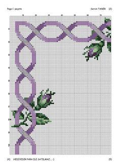 Cross Stich Patterns Free, Cross Stitch Boarders, Crochet Edging Patterns, Cross Stitch Heart, Cross Stitch Flowers, Cross Stitch Designs, Cross Stitching, Cross Stitch Embroidery, Cross Stitch Fairy