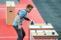 Competition of the bionic athletes - drive.tech