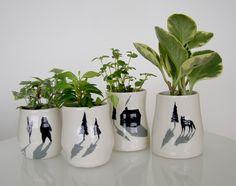 genevieve dionne - vases #viendoarquitecturas #ceramicdreams #genevievedionne