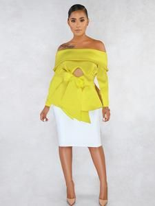 Boat Neck, Sleeve Styles, Strapless Dress, One Shoulder, Ruffle Blouse, Pullover, Long Sleeve, Sleeves, Color