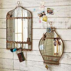 Birdcage mirrors :)