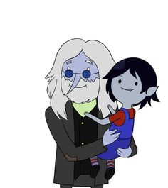 Simon and Marcy~So I just watched this episode the other day and now I'm kind of officially in love with Simon and IDC if the Ice King smells like garbage and doesn't wear pants, he's actually perfect. Adventure Time Episodes, Martin Mystery, Adventure Time Tattoo, Adveture Time, King Tattoos, Fanart, Finn The Human, Vampire Queen, Jake The Dogs