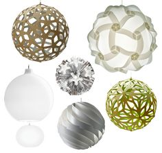 spherical pendant lights