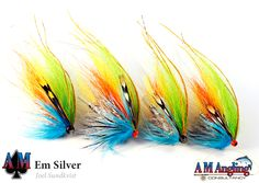 Em Silver Fly Fishing Gear, Fishing Knots, Fly Reels, Fishing Reels, Steelhead Flies, Saltwater Flies, Atlantic Salmon, Salmon Flies, Fly Tying Patterns