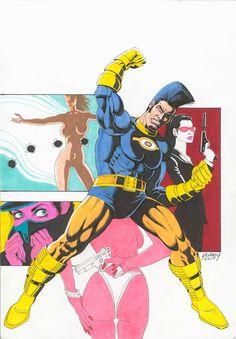 Paul Gulacy - OMAC Comic Art
