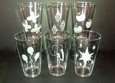 MLP+Friendship+is+Magic+Cutie+Mark+Etched+Pint+by+CyberGlassware,+$50.00